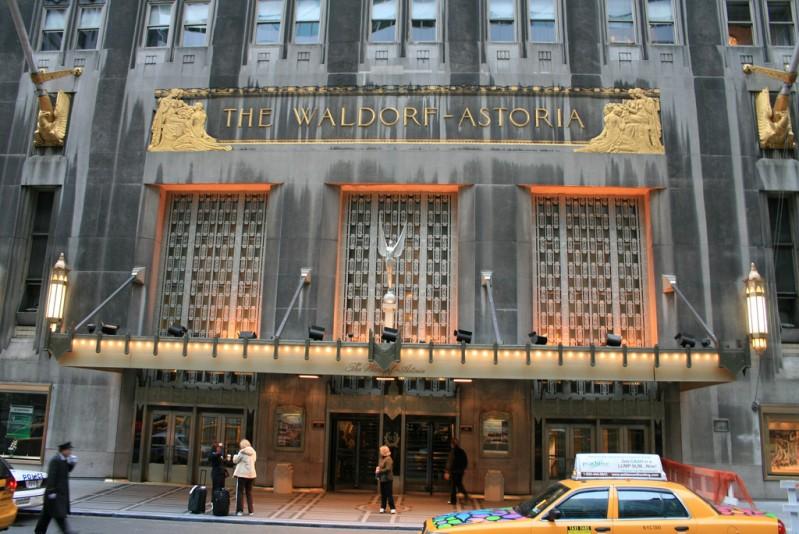 Hotel Waldorf Astoria NY