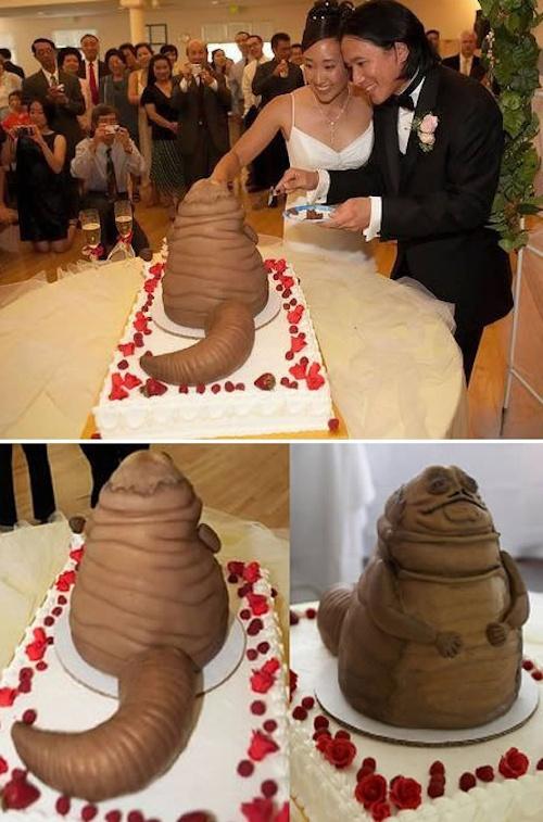 tarta nupcial de Jabba el Hut