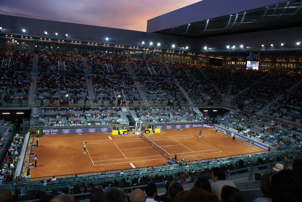 Una docena de detalles del Masters de tenis de Madrid