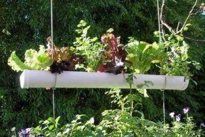 Una docena de ideas para crear un huerto urbano o macetohuerto con materiales reciclados Canalosn-Huerto
