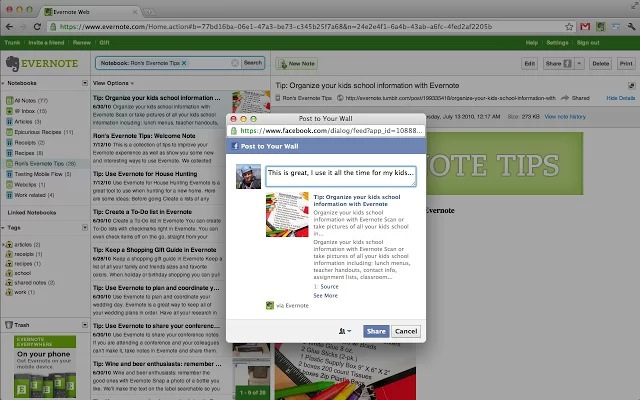 Evernote Extension