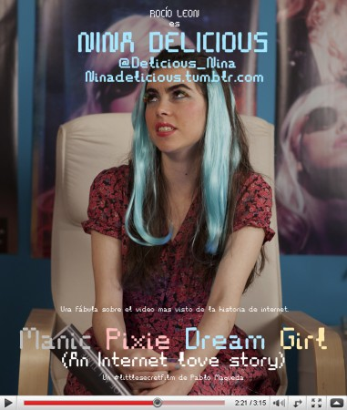 "Manic Pixie Dream Girl ""An Internet Love Story"""