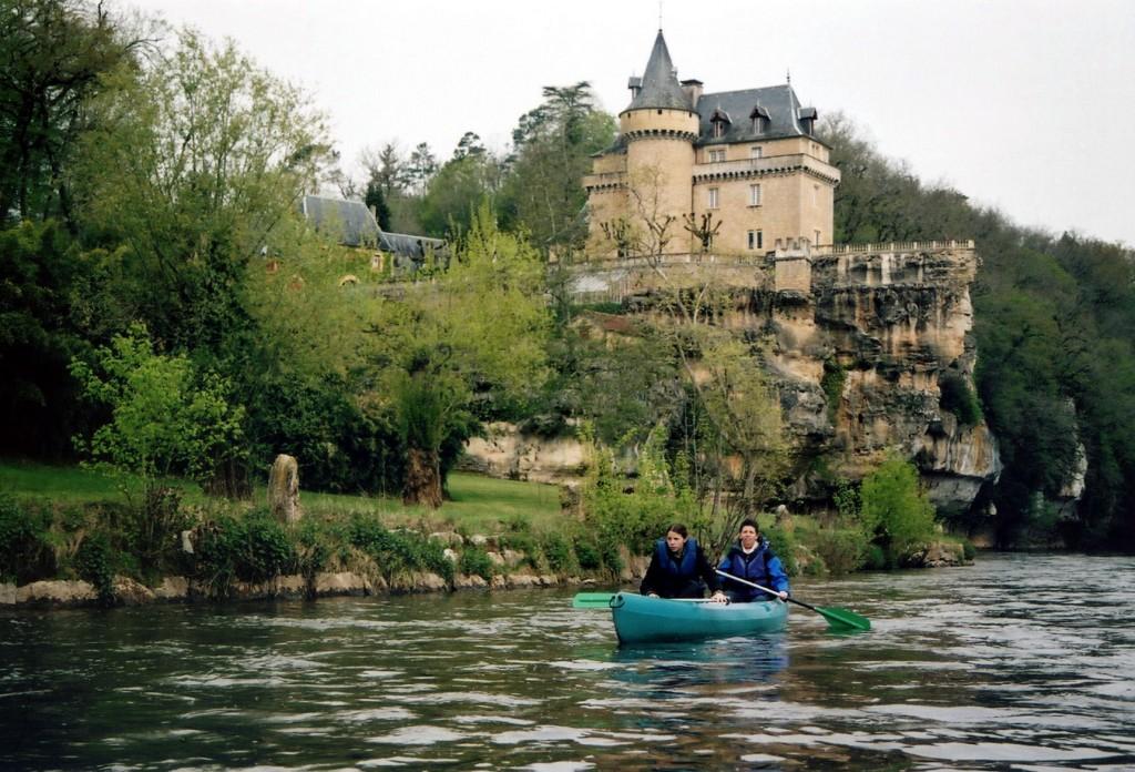 canoas por el vézère