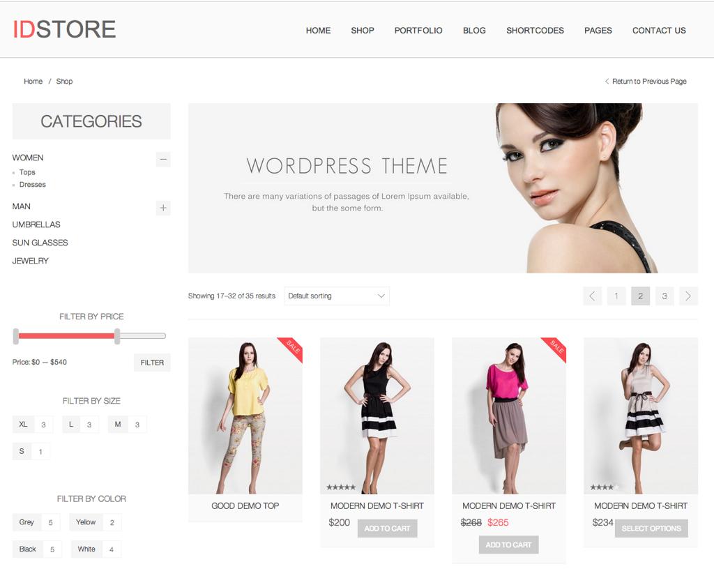 Temas WordPress Woocommerce