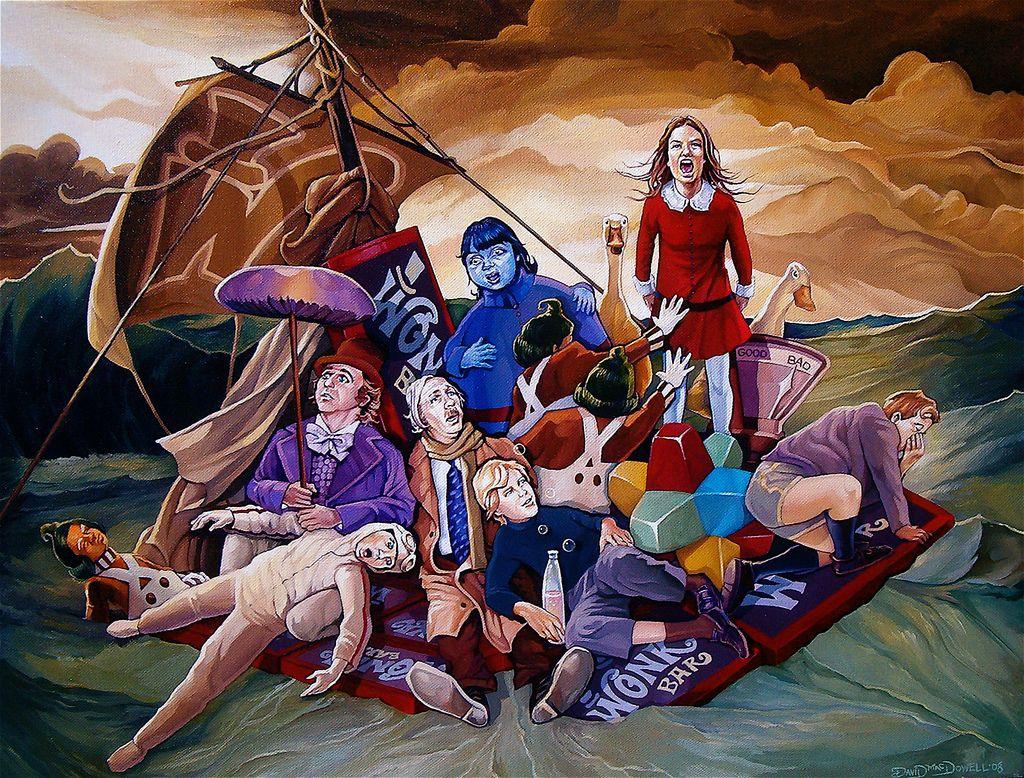 Una docena de pinturas acrílicas para conocer el surrealismo pop de Dave MacDowell