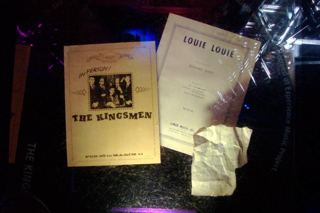 Una docena de versiones de Louie Louie