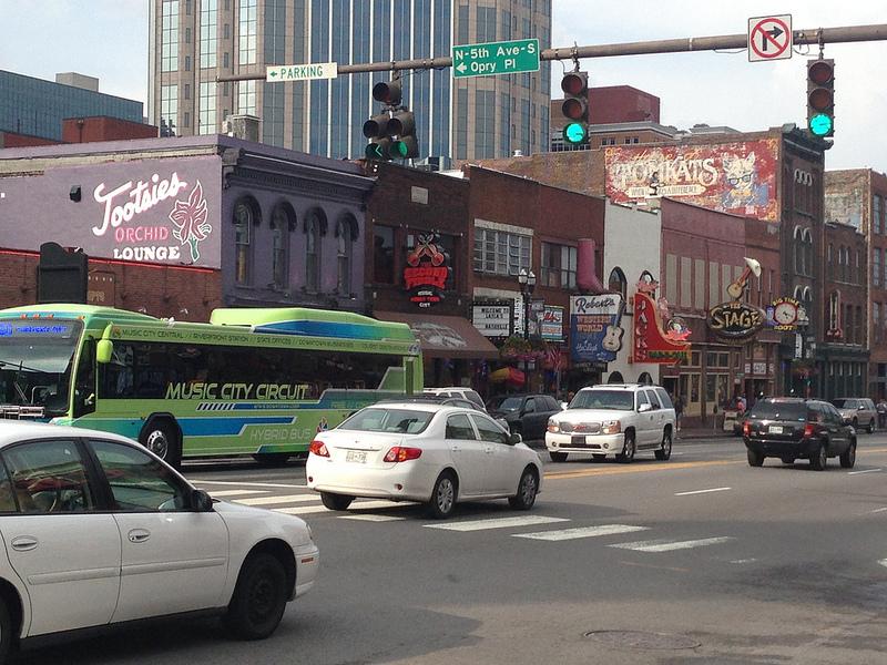 Broadway St. Nashville TN