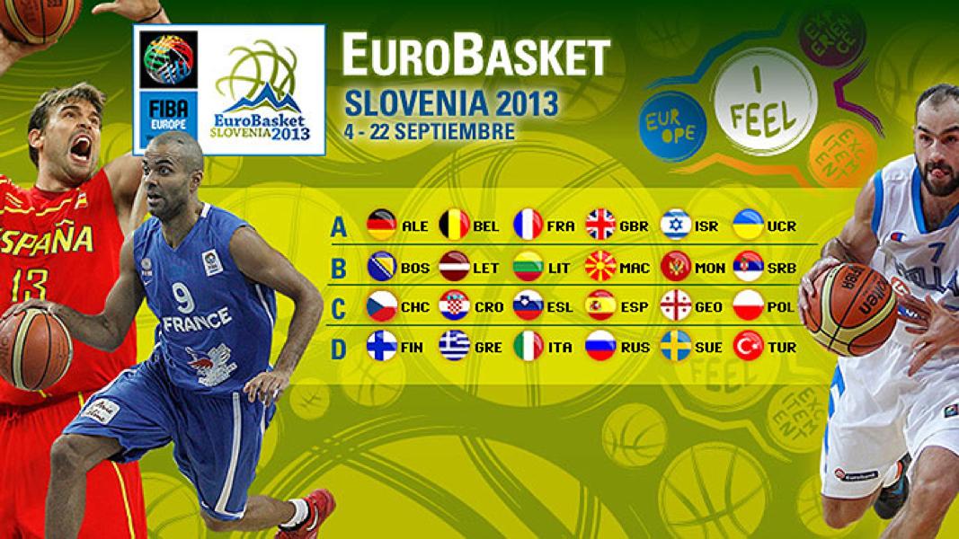 Una docena de jugones a seguir en el Eurobasket 2013 de Eslovenia