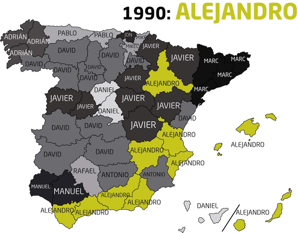 Hombres nacidos de 1990 a 1999