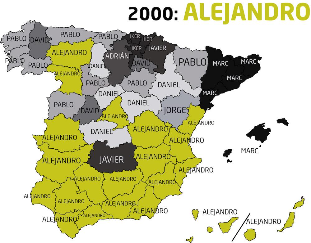 Hombres nacidos de 2000 a 2009