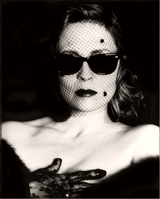 Faye Dunaway by Helmut Newton