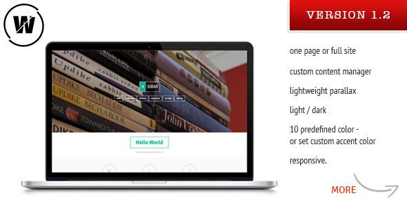 Asobar Tema WordPress