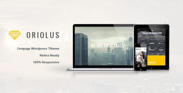 Oriolus Tema WordPress