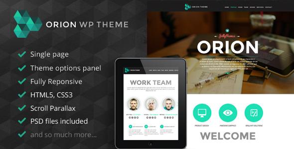 Orion Tema WordPress