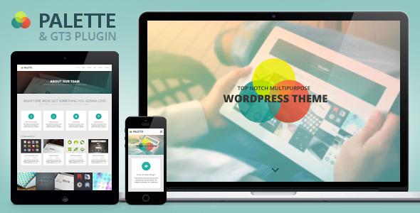 Palette Tema WordPress