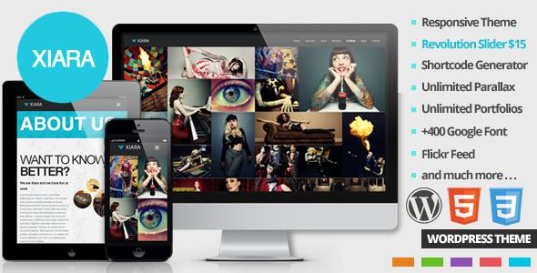 Xiara Tema WordPress