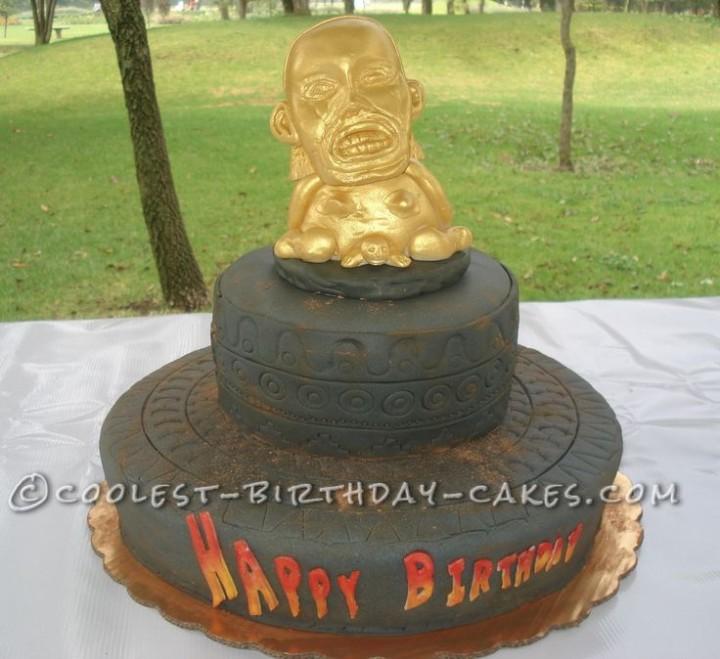 idolo cake indiana jones