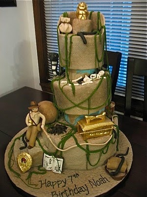raiders of the lost arc cake