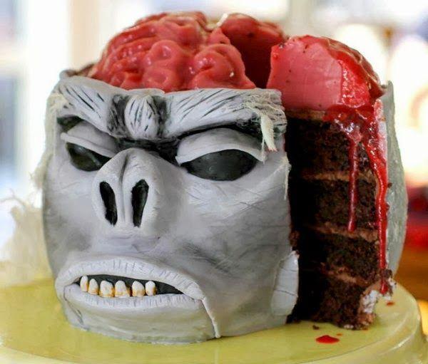 sorbete sesos de mono cake