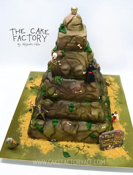 templo maldito cake