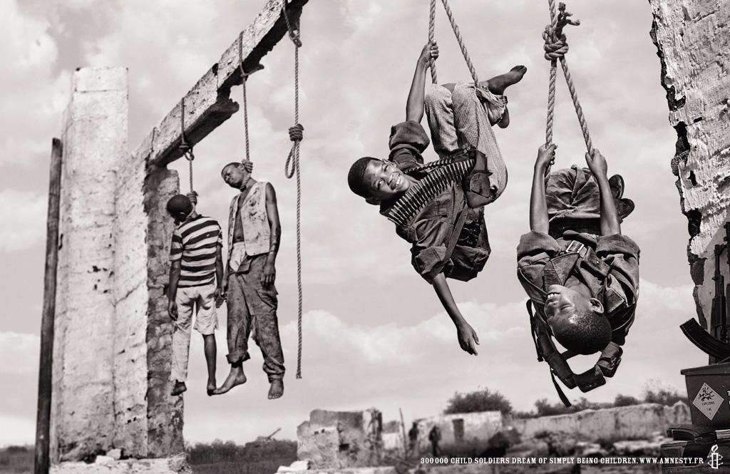 Una docena de campañas impactantes de Amnistía Internacional