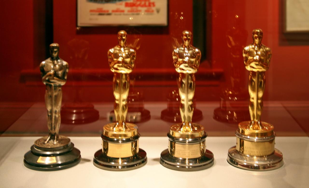 Los cuatro Oscars de Katherine Hepburn