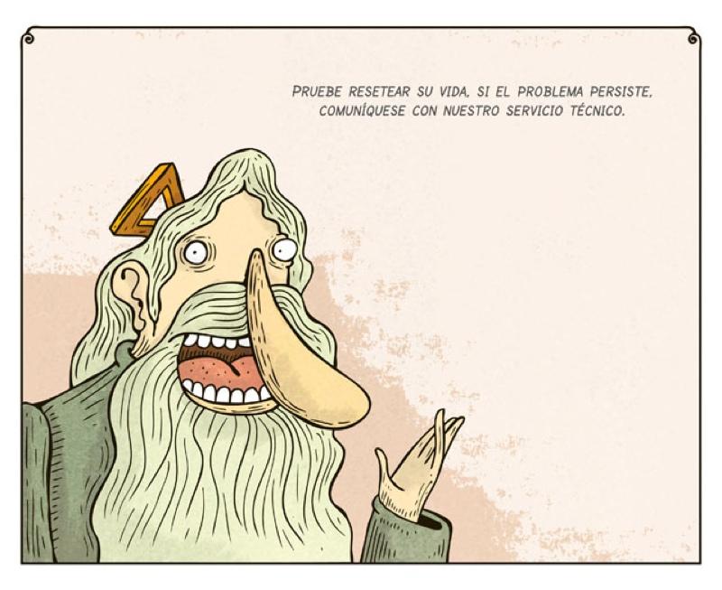 Una docena de viñetas de Montt que no se debería perder ni Dios