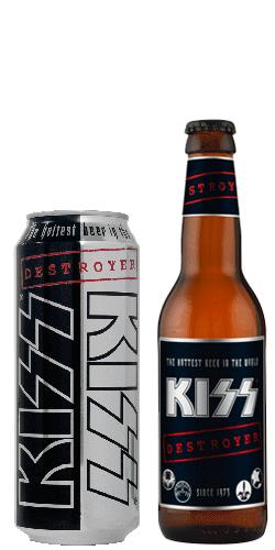 Una docena de _ Kiss _ Destroyer beer _ kissrockdrinks.com