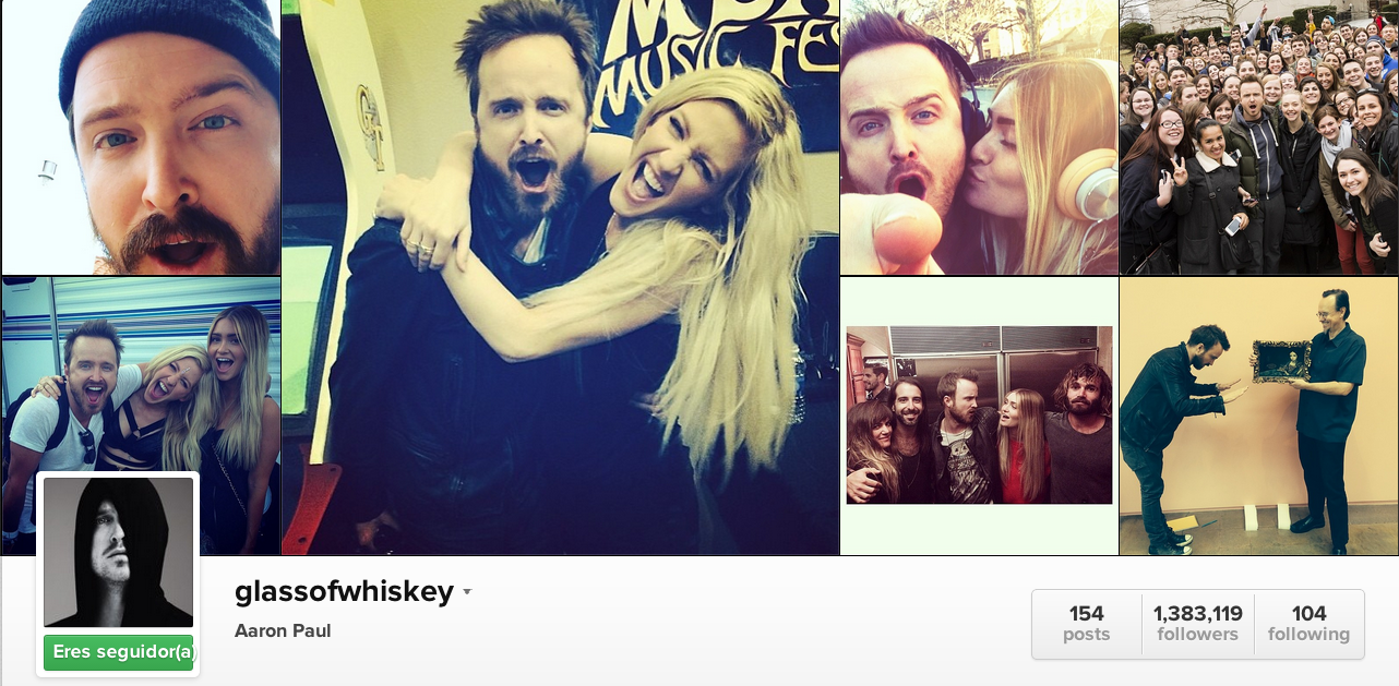 Instagram Aaron Paul