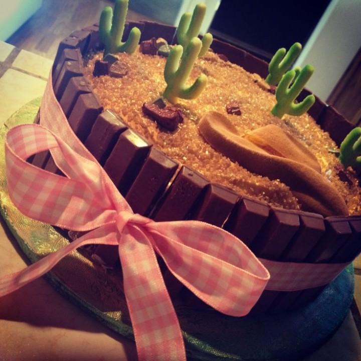el desierto cake