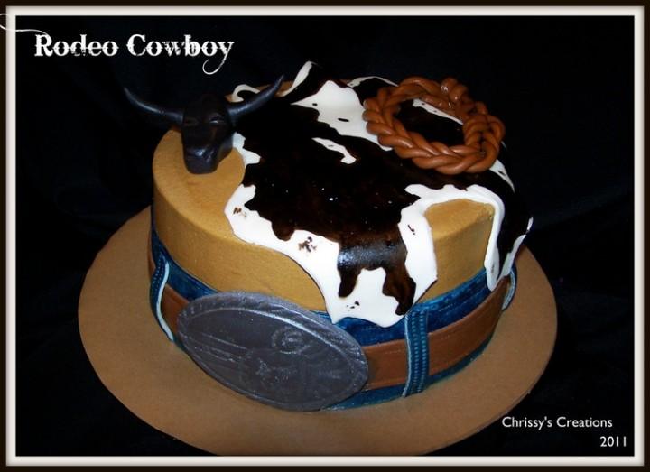 piel de vaca cake