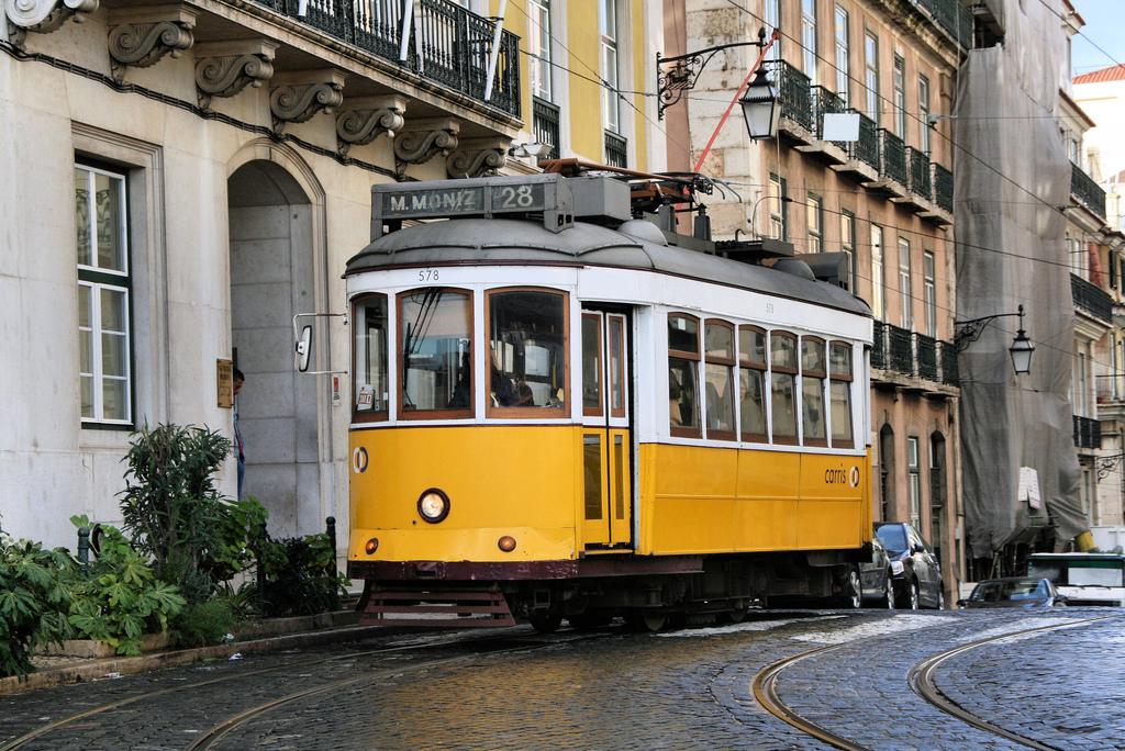 Tranvía 28 de Lisboa