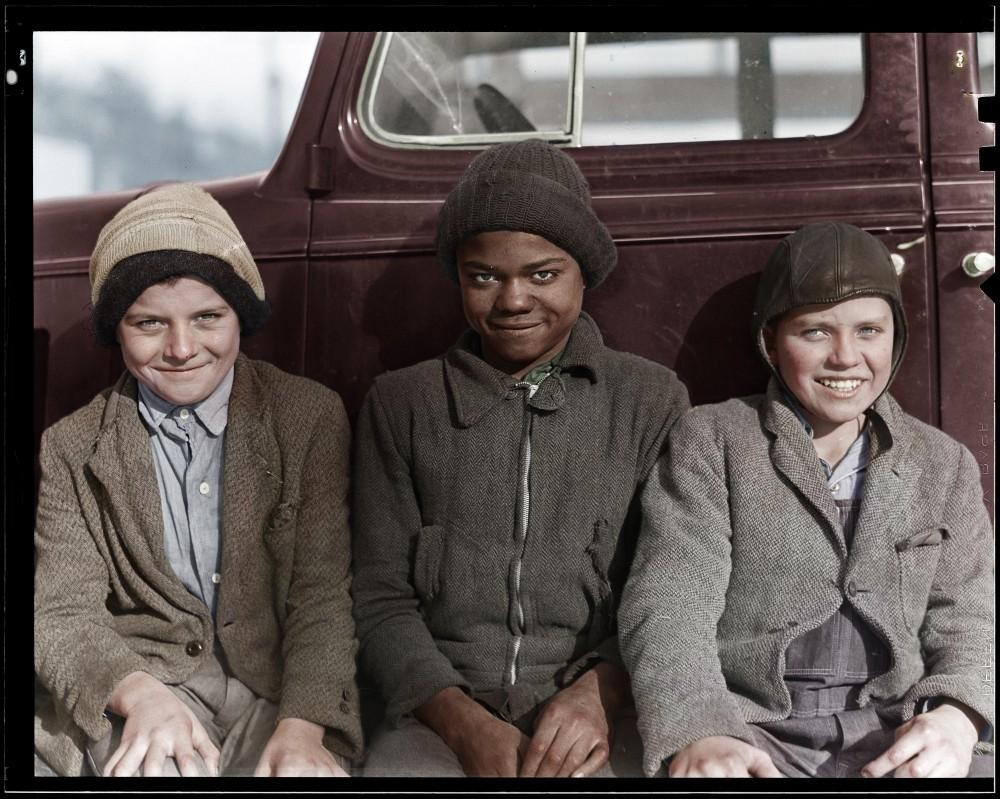 children of miners