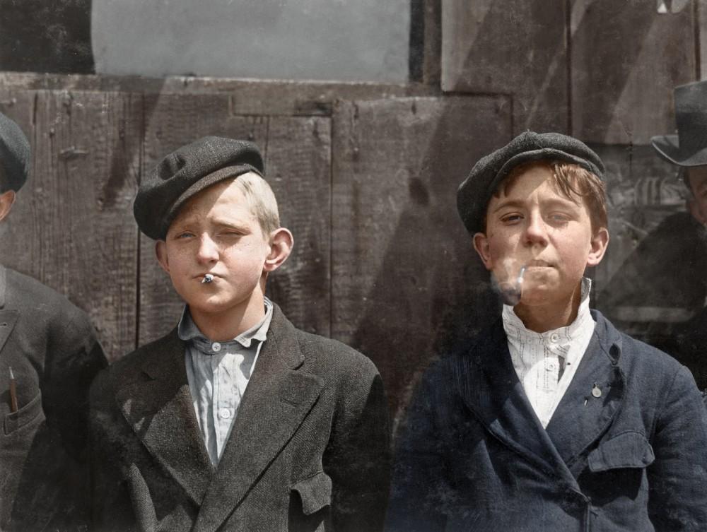 newsies smoking